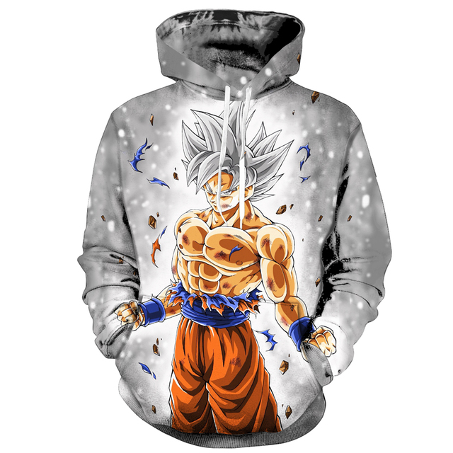 GOKU SUPERSAIYAN 3D HOODIES