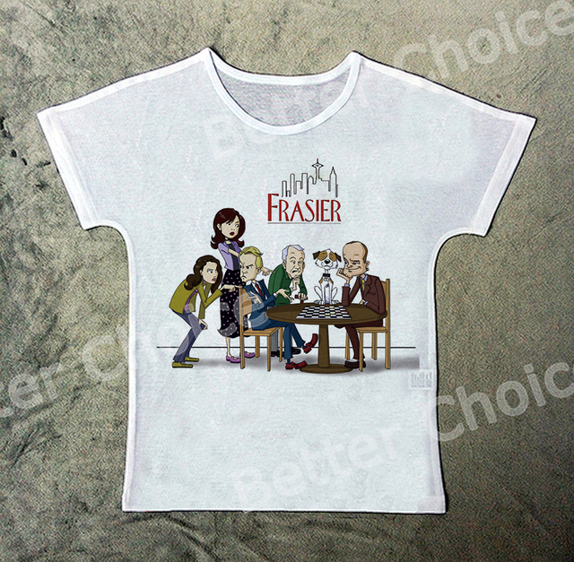 92e0f9f36 Track Ship+New Hot Fresh Vintage Retro T-shirt Top Tee Situation Comedy  Frasier