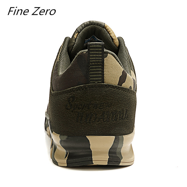 Autumn Spring Men's Women's Running Shoes Unisex Sport Outdoor Sneakers Breathable Women Camouflage green Walking Jogging Shoes 3
