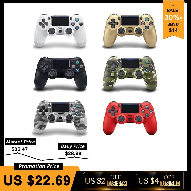Nuevo Bluetooth 4,0 controlador para SONY PS4/PS4 Pro Slim Gamepad para PlayStation 4 Joystick inalámbrico consola para PS3 para Dualshock