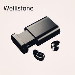 Weilistone MiNi Wireless Buletooth Earphone Sports headset Stereo Bluetooth Earbuds with Mic for iphone xiaomi samsung
