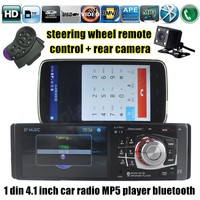 1 DIN Stereo Car Radio MP4 MP5 Player Bluetooth TF USB FM 4 1 Inch With