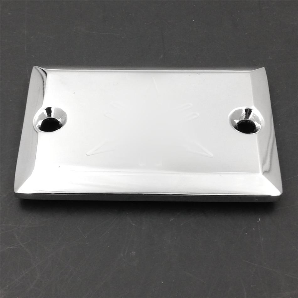 chrome Billet brake Fluid Reservoir Cap for Yamahah Virago 535 700 750 1000 1100