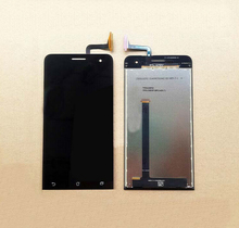For Asus ZenFone 5 A500CG A500KL Black Full Touch Screen Digitizer Glass Sensor + LCD Display Panel Screen Assembly