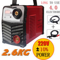 Micro ZX7250 welder New Protable DIY Mini IGBT inverter DC MMA welding machine/welding equipment suitable 4.0 electrode