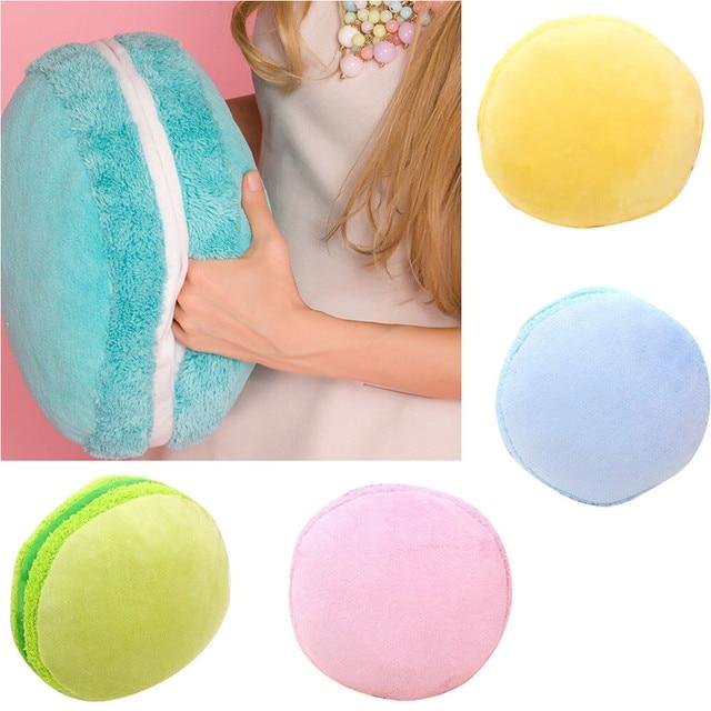 HOT Sale Throw Macarons Pillow Cushion Plush Naps Hand Warmer Toy S9251