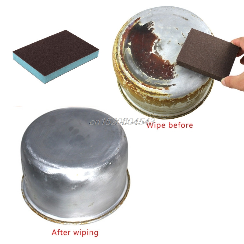 Bathroom Hardware Nanometer Diamond Sand Sponge Descaling Clean Magic Pan Pot Windows Cleaning Brush Sponge Kitchen Accessories R06 Drop Ship Promoting Health And Curing Diseases