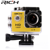Wifi HD Action sport camera HD 1080 P 2.0 LCD 130D go mini Helmet action Cam waterproof sports camera outdoor video cameras pro
