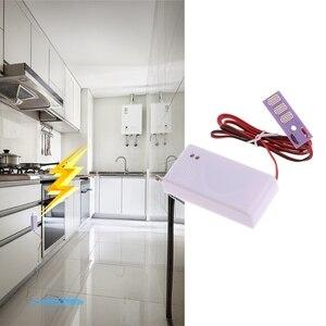 Image 2 - 1 PC 433MHz Sensore di Perdite Dacqua Senza Fili Rilevatore di Perdite Per La Casa di Allarme di Sicurezza