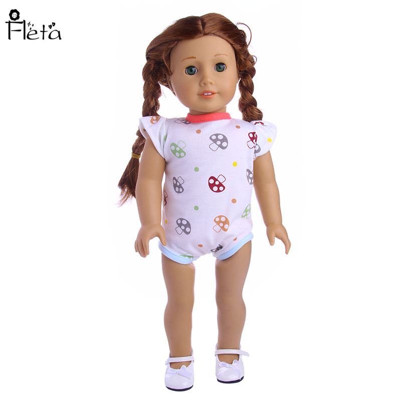 Fleta Nuevo pequeño patrón de setas Mono adaptable a 43cm Baby Born - Muñecas y accesorios - foto 4