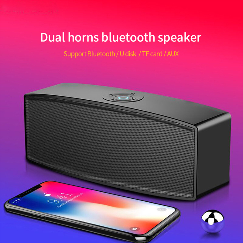Wireless Mini Bluetooth Speaker Portable Waterproof Speaker Sound System Stereo Music Surround Loudspeaker Gifts TF AUX USB A11 in Portable Speakers from Consumer Electronics
