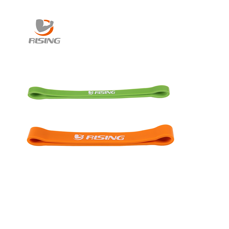 Green and orange combination ftness equipment cross fit loop latex band body gym training powerlifting pull up  free shipping