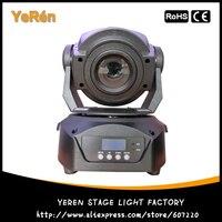 60W LED Moving Head Spot Light DMX 15channels FOCUS 3 Facet Prism LUMINUS LED Lamp