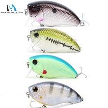 Maximumcatch Hard Baits Crank Pike/Bass Fishing 6.3cm Floating Hard Fishing Lure with #6 premium treble VMC Hook