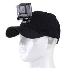 Gorra ajustable para cámara deportiva, con tornillos y Base J Stent para GoPro Hero 6/5