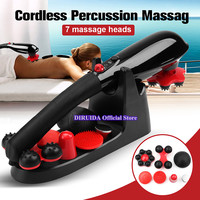New Electric Cervical Neck massager Handheld Full Body Back Foot Shoulder Facial Head Massage Stick Roller massager Instrument