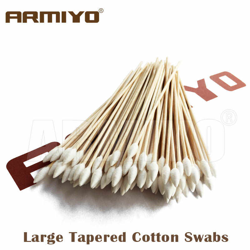 Armiyo Grote Tapered Swabs Gun Cleaning Katoen Rifle Cleaner 6 inch 152mm Lengte Airsoft Schieten Accessoires