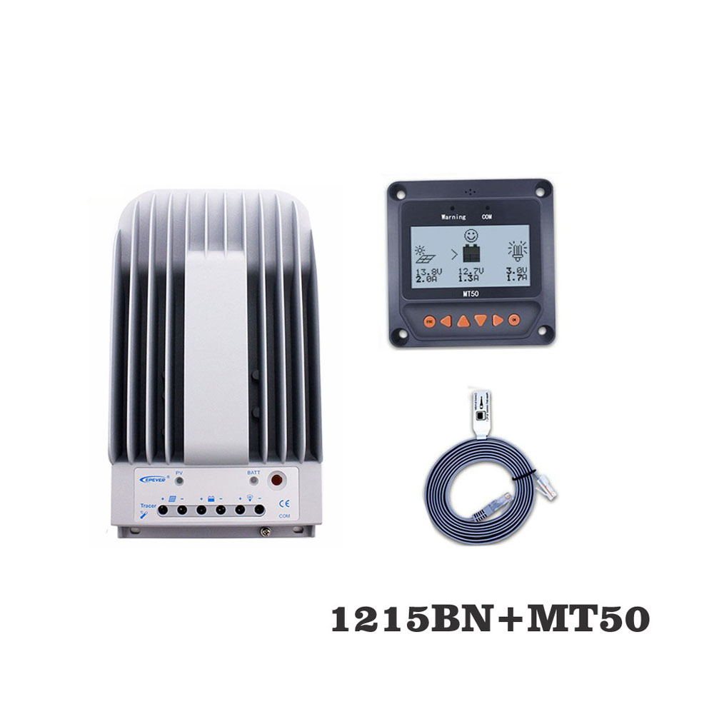Tracer1215BNN 10A MPPT Solar Panel Charge cell battery charger control 1215BN with MT50 Remote Meter LCD DisplayTracer1215BNN 10A MPPT Solar Panel Charge cell battery charger control 1215BN with MT50 Remote Meter LCD Display