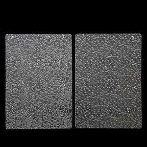 Image 4 - 6pcs בישול מרקם גיליון סט קוקי מרקם מחצלת סוכר קרפט קישוט אפיית כלים פונדנט עוגת עובש שקוף מרקם