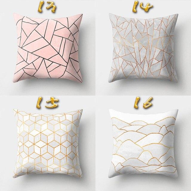 Estate Geometrica Cuscino Decorativo di Copertura Divano Throw Pillow Car Poltrona Letto Home Decor Pillow Case cojines decorativos para divano