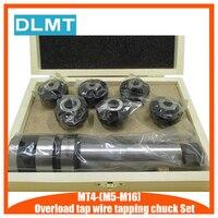 עומס חדש ברז חוט הקשה צ 'אק סט M5 M16 עם MT4 פיד ברז מוט|מחזיק כלי|   -