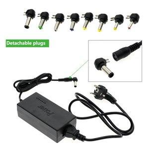 Image 4 - ספק כוח אוניברסלי מתאם AC95 265V קלט כדי DC12V/15V/16/18V/19V/20V/24V פלט רובוטריקים עם 8 חתיכות DC מחברים