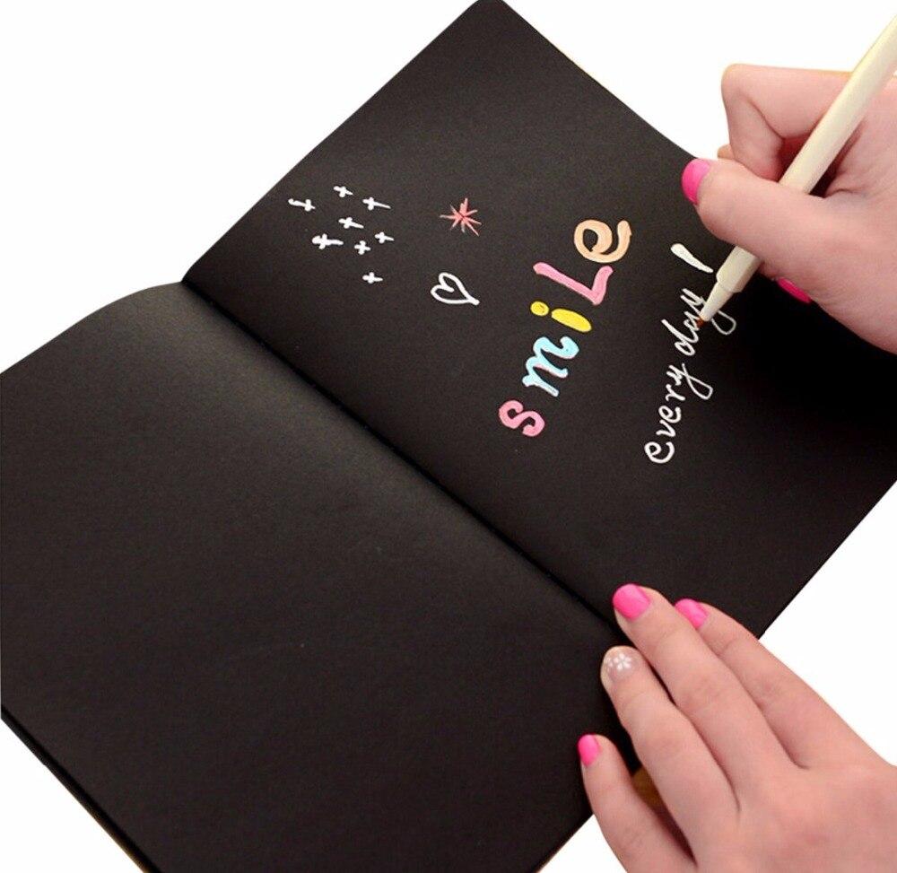 Black Graffiti Book Sketchbook Graffiti Book For Drawing,DIY Photo Album,Graffiti ,Artist Drawing