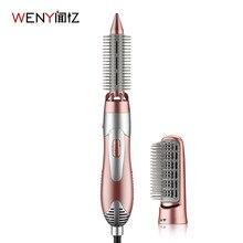 WENYI 220 240V חשמלי שיער קרלינג איירונס Styler שיער לפוצץ מייבש מכונה מברשת מסרק מחליק Curler סטיילינג כלי