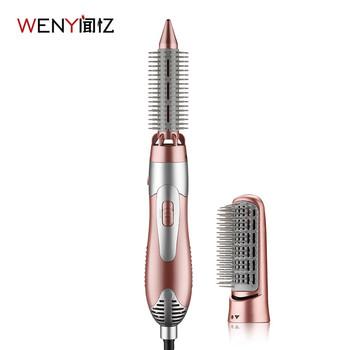 WENYI 220-240V elektryczne lokówki do włosów Styler suszarka do włosów szczotka grzebień lokówka z prostownicą urządzenie do stylizacji tanie i dobre opinie Unfoldable uchwyt Termostatyczny Euro 1200 w Zbieranie i rozpraszania powietrza Ceramiczne 210-240 v Electric 2he1 plastic