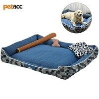 Petacc 4 в 1 высокое качество ПЭТ постельный комплект Съемная Собака Постельный Комплект Ультра мягкий диван ПЭТ с анти на нескользящей подошв