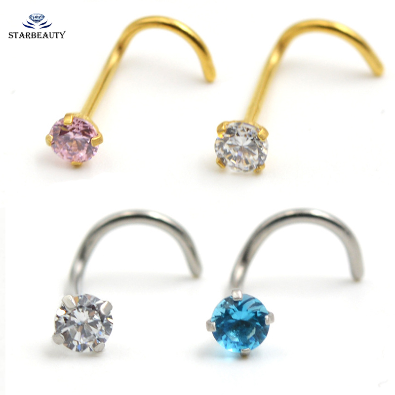 Top 10 Most Popular Gold Nose Ring List And Get Free Shipping