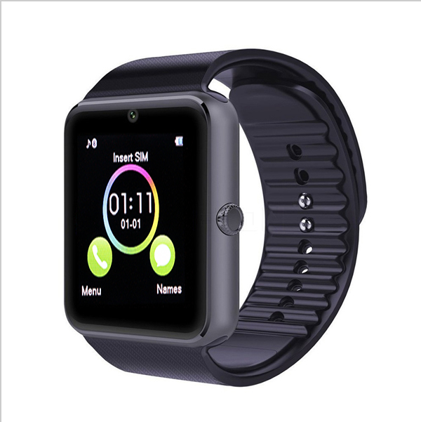Wearable Devices GT08 Bluetooth Smart Watch Clock With Sim Card Slot For apple For iphone Android Better Than U8 DZ09 Smartwatch