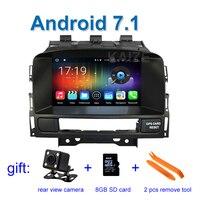 2 GB RAM Android 7.1 Araba DVD Oynatıcı Radyo Vauxhall Opel Astra J için WiFi BT GPS ile Buick Verano