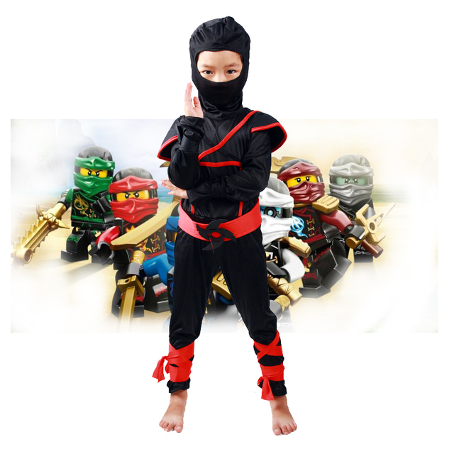 Kids birthday Boys Clothes Sets Ninjago Character Cosplay Costumes Children Clothing Halloween Christmas Party Ninja Roblox  sc 1 st  AliExpress.com & Kids birthday Boys Clothes Sets Ninjago Character Cosplay Costumes ...
