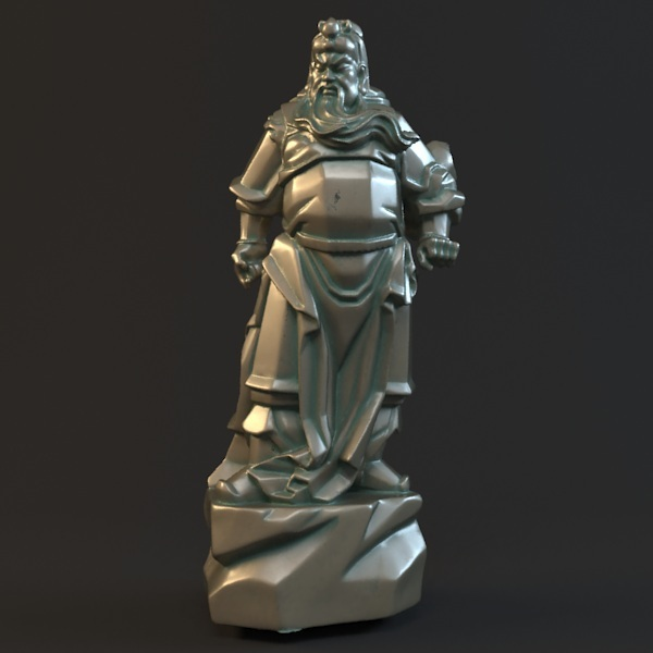 3D model for cnc 3D carved figure sculpture machine in STL file format Chinese historical figure Guan Gong 12pcs 3d model for cnc 3d carved figure sculpture machine in stl file format the chinese culture chinese zodiac