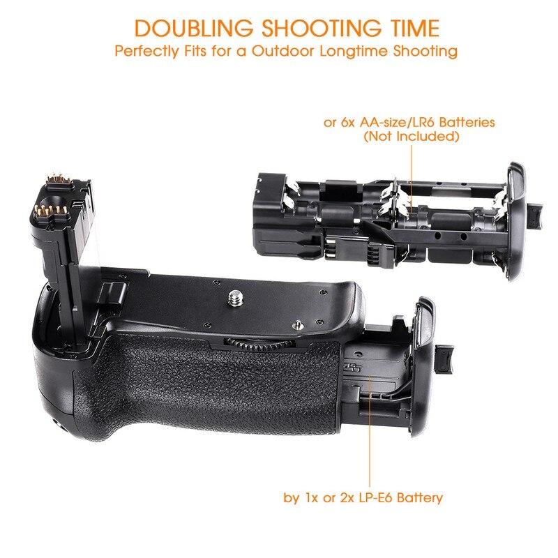 Canon 60D 60Da DSLR Kamera Dəyişdirmə BG-E9 üçün LP-E6 - Kamera və foto - Fotoqrafiya 3