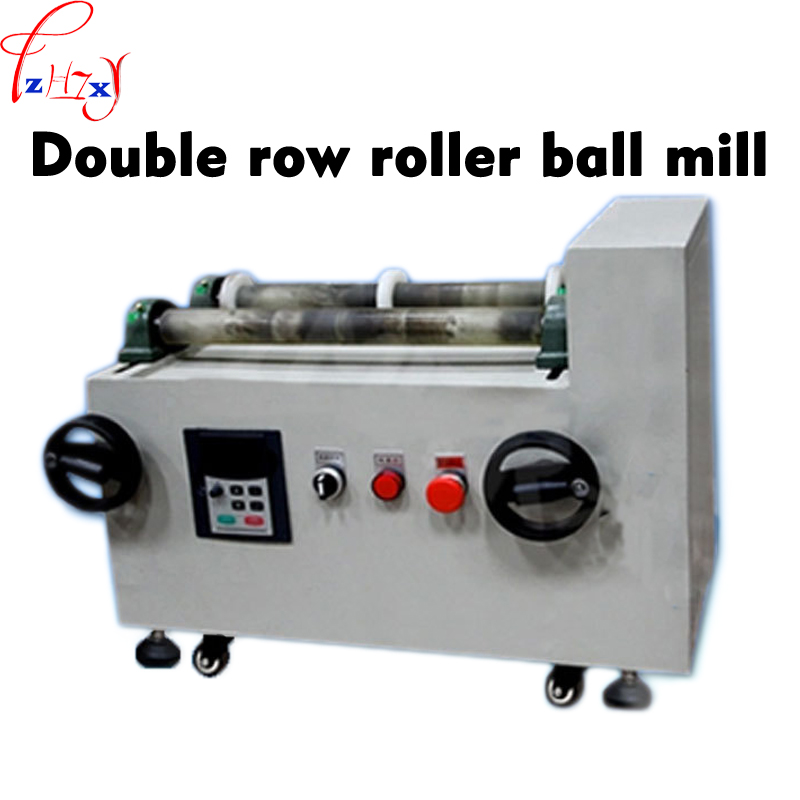 Horizontal ball mill GMS1-2 Roller Ball Mill machine Dry and wet roller planetary roller machine 220V 750W 1PC