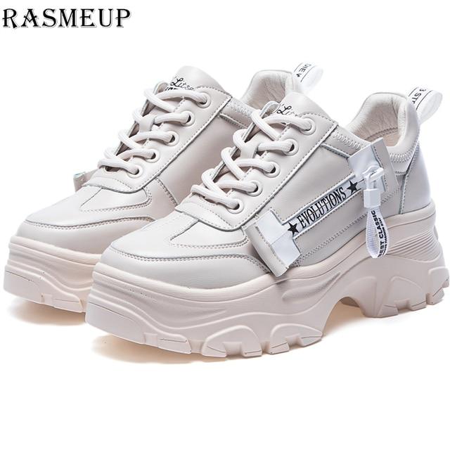 Descuentos Zapatillas gruesas RASMEUP de talla grande para