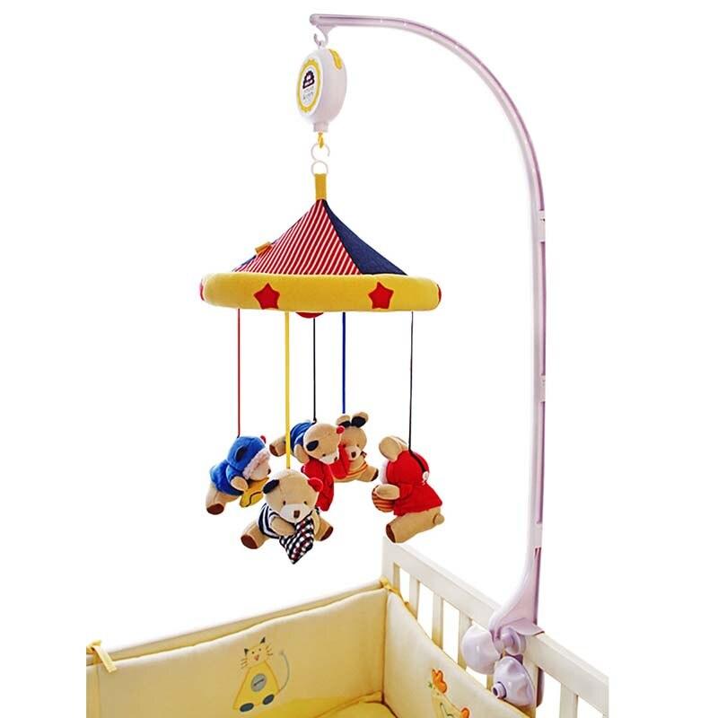 SHILOH Երաժշտական Բջջային օրորոց - Խաղալիքներ նորածինների համար - Լուսանկար 4