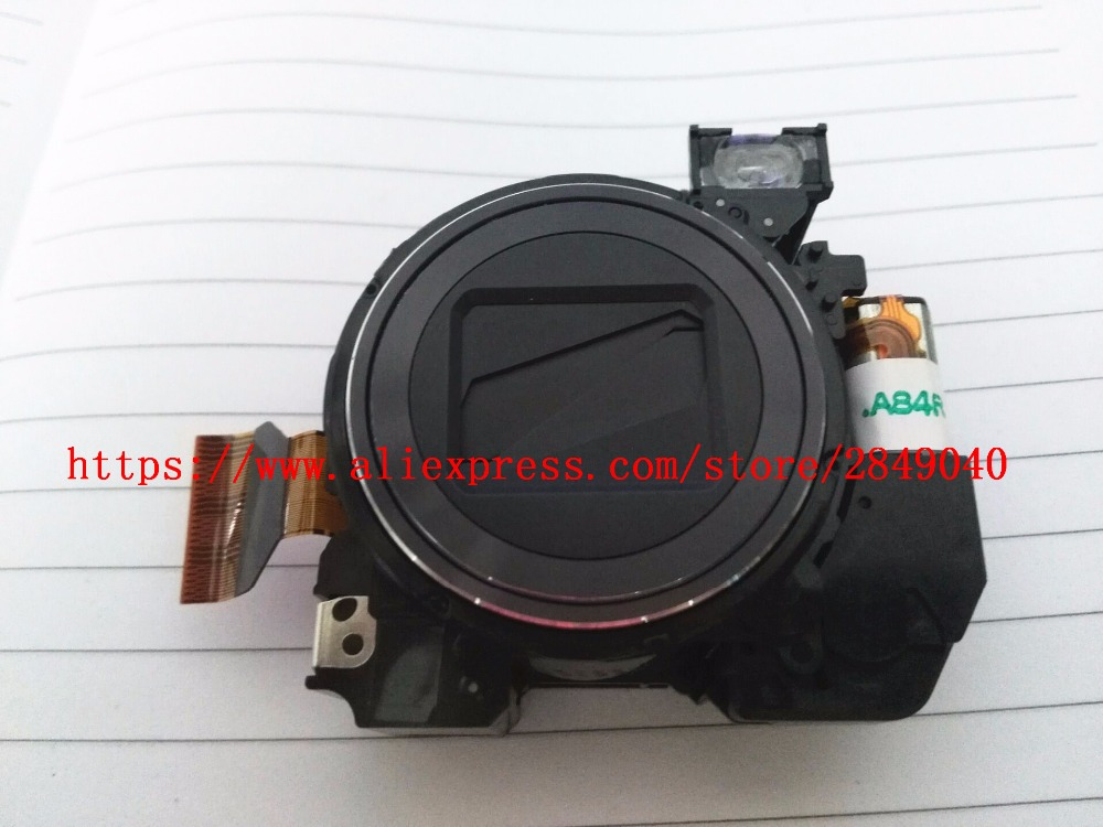silver Free Shipping 90%new Zoom Lens Unit Without Ccd For Sony Dsc-w7 Dsc-w5 Dsc-w12 W7 W5 W12 Digital Camera