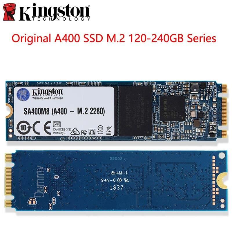 Disque SSD interne Kingston A400 SSD M.2 2280 120GB 240GB disque dur HDD HD SSD pour ordinateur portable livraison directe