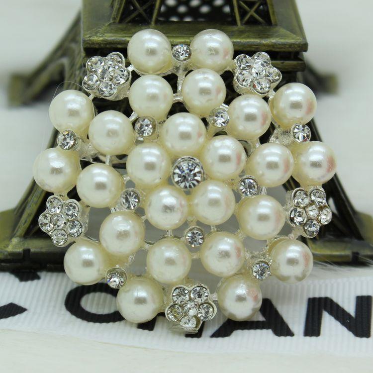 Free Shipping Garment Jewelry Rhinestone Crystal Fashion Flowers