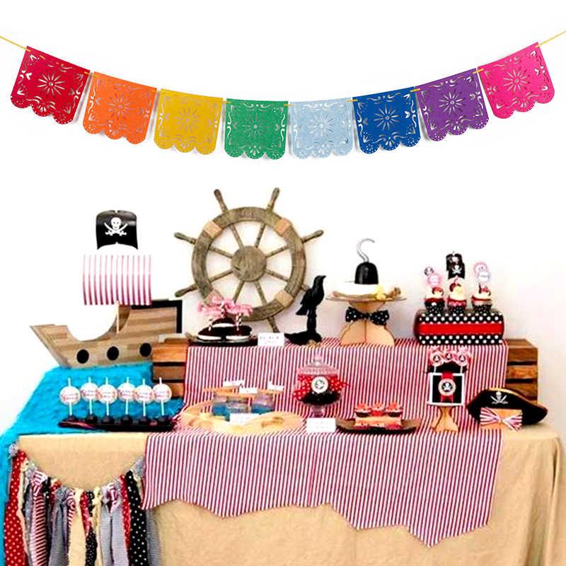 Cevent 1 Bộ Mexico Biểu Ngữ Cho Tiệc Cưới, Vòng Hoa Lá Cờ Biểu Ngữ Cho Tiệc Giấy Biểu Ngữ Dự Tiệc Cung Cấp