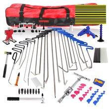 Набор крючков для ремонта вмятин без покраски комплект инструментов