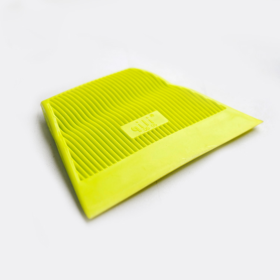 Good Quality Vinyl Wrap Tool Yellow Power Stroke Squeegee Soft Scraper For Auto Tinting QG 05 Whole Sale-in Car Stickers from Automobiles & Motorcycles