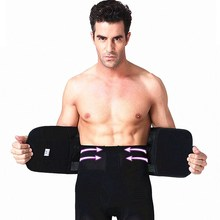 NINGMI Slimming Modeling Belt Shaper Mens Males Waist Trainer Firm Sticker Weight Loss Belly Strap Corset