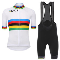 High Quality Ropa Ciclismo Cycling Clothing Shorts Sleeve Cycling Wear Clothing Cycling Jersey Spain 2014
