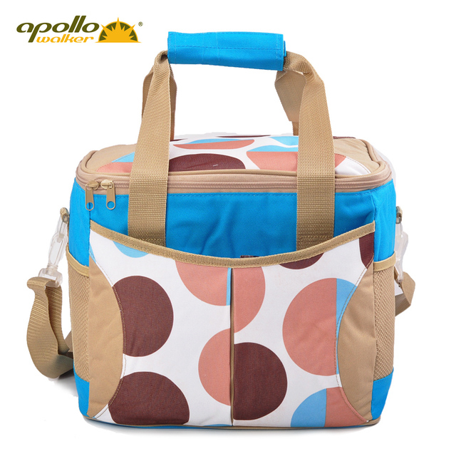 20L Thermal bag Apollo insulation package cooler lunch bag Large thickening ice pack portable cooling box