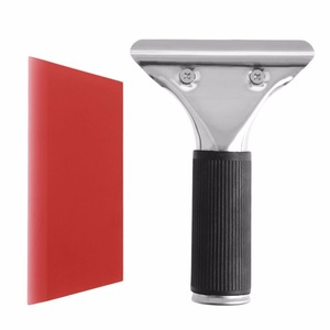 Image 4 - 새로운 자동차 자동 창 필름 tinting 스퀴지 면도기 블레이드 스크레이퍼 도구 핸들