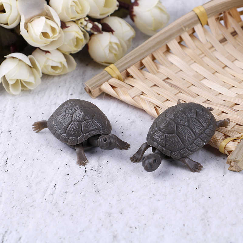 High Simulation Fake Artificial Tortoise Aquarium Emulational Floating Plastic Turtles for Fish Tank Aquatic Decoration